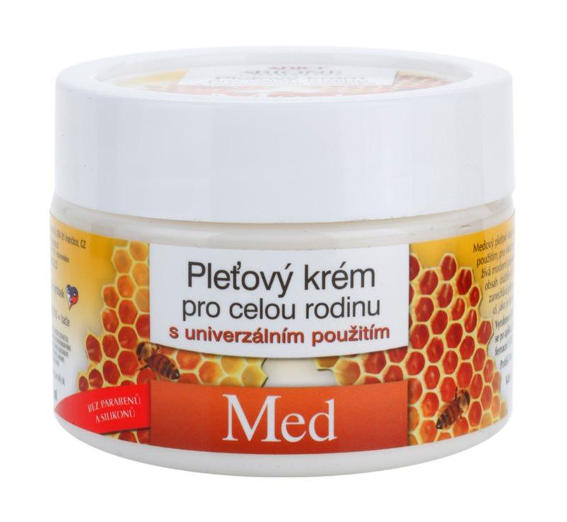Bione Cosmetics Honey + Q10 krem do twarzy dla całej rodziny z miodem