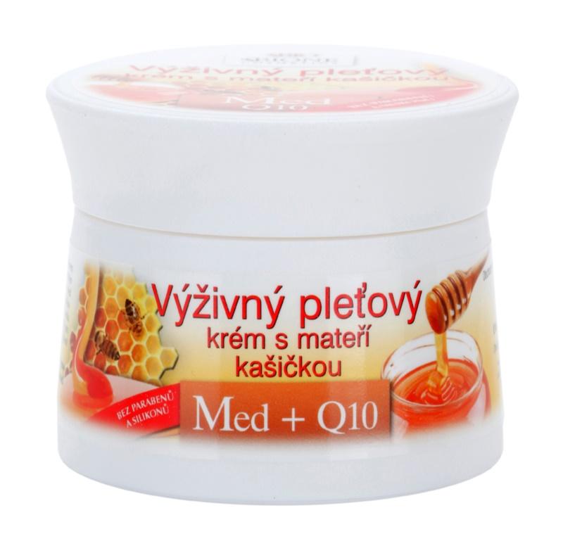 Bione Cosmetics Honey + Q10 výživný krém s mateří kašičkou