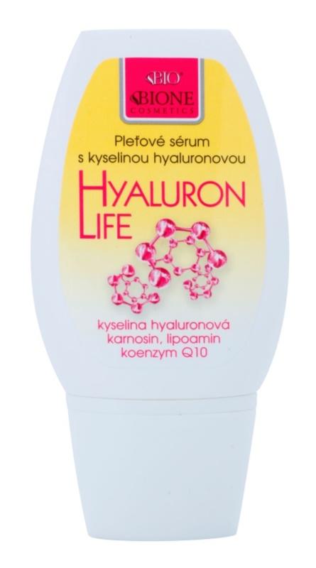 Bione Cosmetics Hyaluron Life hidratantni i hranjivi serum  za lice