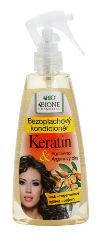 Bione Cosmetics Keratin Argan ausspülfreier Conditioner im Spray