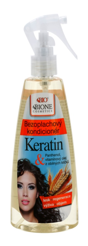 Bione Cosmetics Keratin Grain après-shampoing sans rinçage en spray