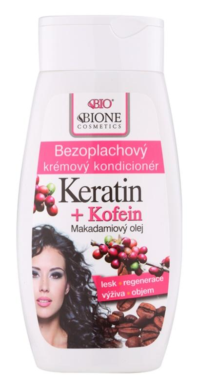 Bione Cosmetics Keratin Kofein balsam cremos ce nu necesita clatire