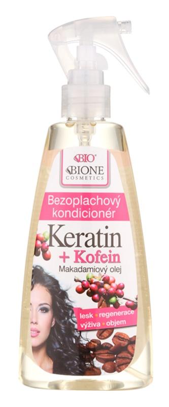 Bione Cosmetics Keratin Kofein незмиваючий кондиціонер у формі спрею