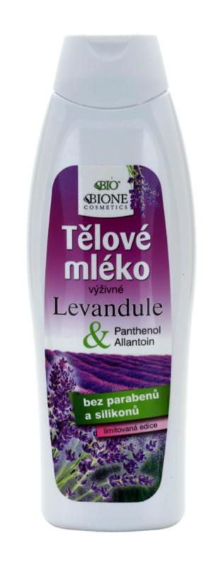 Bione Cosmetics Lavender поживне молочко для тіла