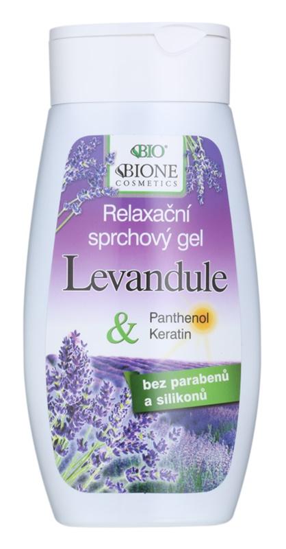 Bione Cosmetics Lavender relaxačný sprchový gél