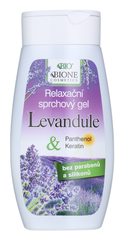 Bione Cosmetics Lavender relaxáló tusfürdő gél