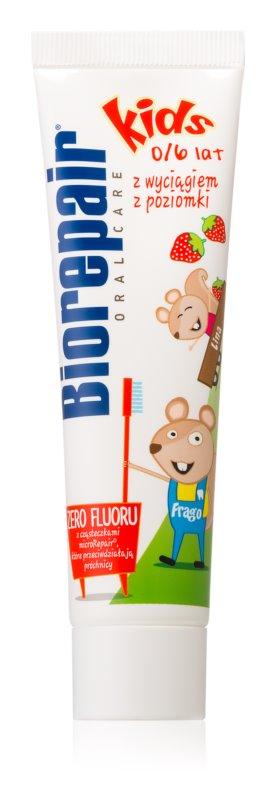 Biorepair Junior pasta de dientes para niños sabor fresa