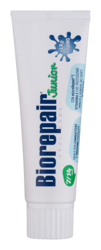 Biorepair Junior pasta de dientes para niños sin flúor