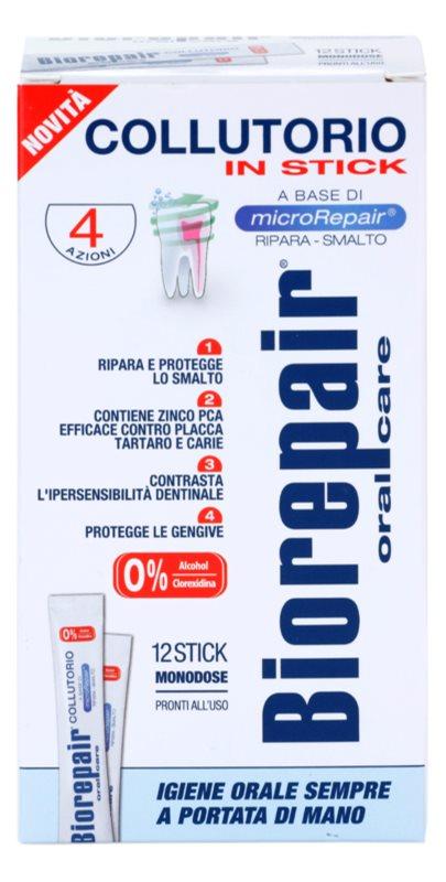 Biorepair Plus рідина для полоскання рота для зміцнення і відновлення зубної емалі дорожній варіант
