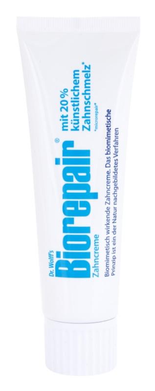 Biorepair Dr. Wolff's crema para renovar el esmalte dental