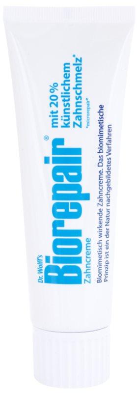 Biorepair Dr. Wolff's Creme zur Erneuerung des Zahnschmelzes