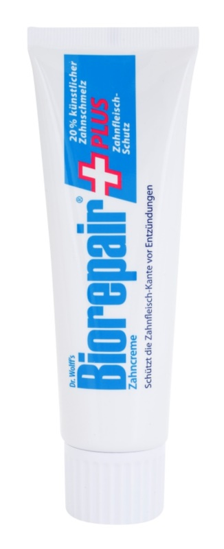 Biorepair Dr. Wolff's Plus krém  a fogzománc megújítására