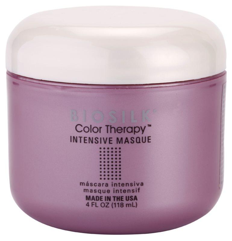 Biosilk Color Therapy intensive Maske zum Schutz der Farbe