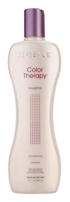 Biosilk Color Therapy sanftes Shampoo ohne Sulfat und Parabene