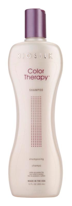 Biosilk Color Therapy м'який шампунь без сульфатів та парабенів
