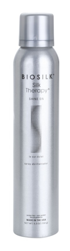 Biosilk SilkTherapy Shine On styling Spray für glänzendes und geschmeidiges Haar
