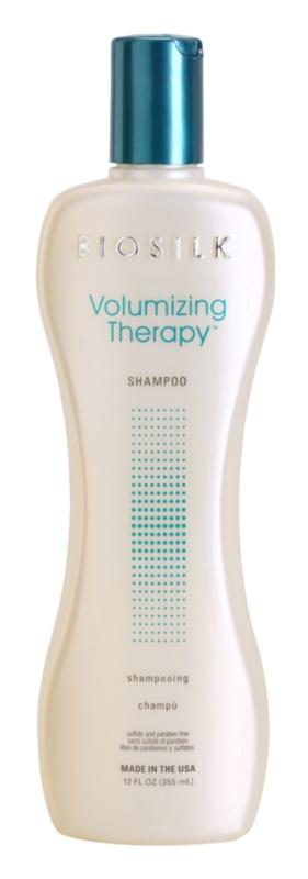 Biosilk Volumizing Therapy champú para dar volumen
