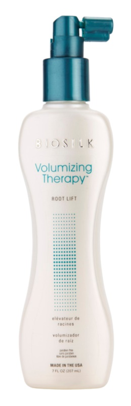 Biosilk Volumizing Therapy emulsão para dar volume desde a raiz