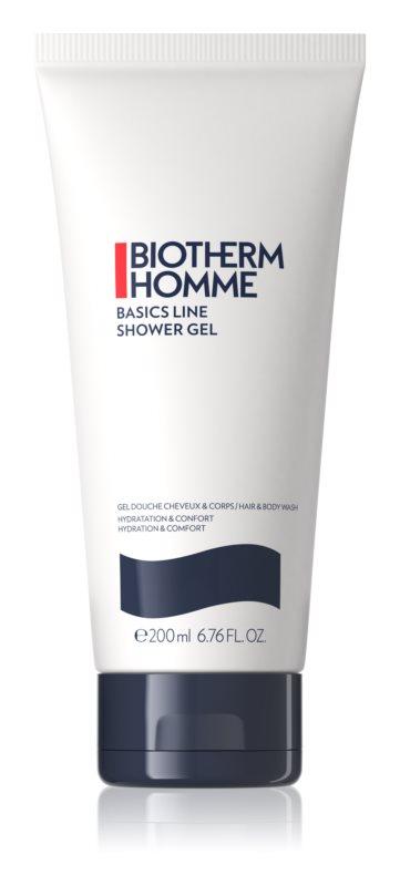 Biotherm Homme energizující sprchový gel na tělo a vlasy