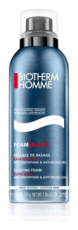 Biotherm Homme espuma de barbear para pele sensível