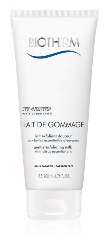 Biotherm Lait De Gommage lait exfoliant doux