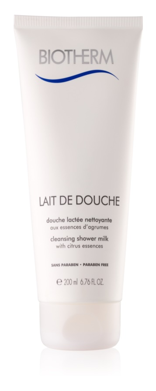 Biotherm Lait De Douche douche lactée nettoyante aux essences d'argumes