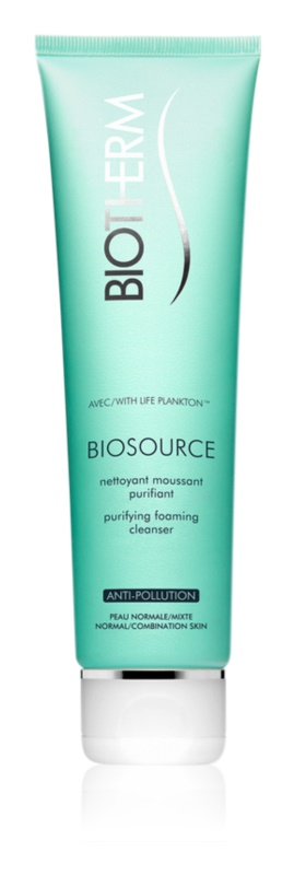 Biotherm Biosource Toning Mousse For Normal To Mixed Skin