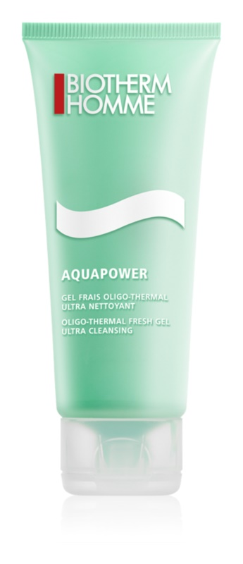 Biotherm Homme Aquapower gel fresh de curatare fata