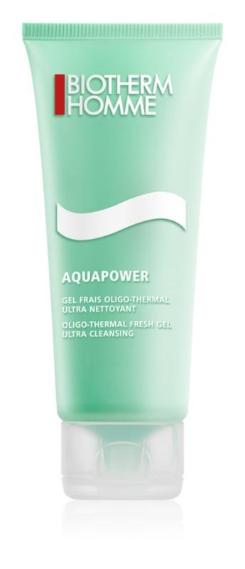 Biotherm Homme Aquapower osvežilni čistilni gel za obraz