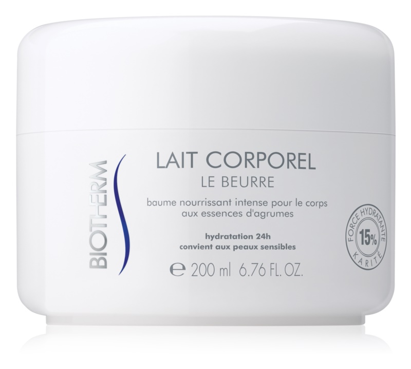 Biotherm Lait Corporel Le Beurre testvaj Száraz, nagyon száraz bőrre