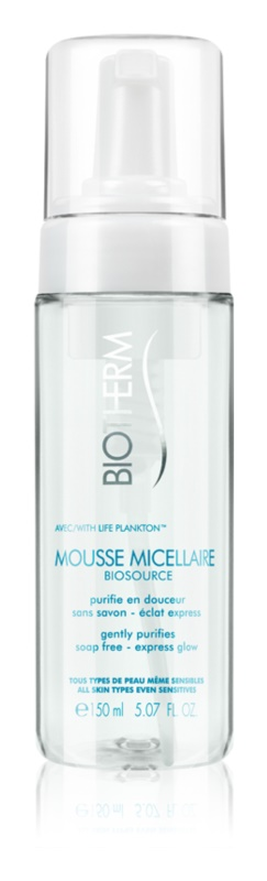 Biotherm Biosource Mousse Micellaire čisticí pěna pro všechny typy pleti