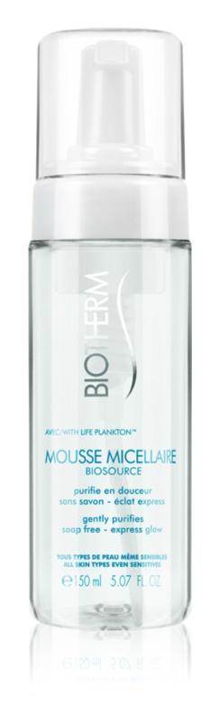 Biotherm Biosource mousse nettoyante pour tous types de peau
