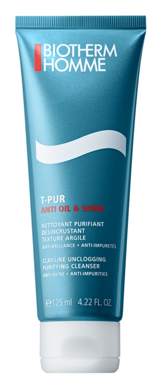 Biotherm Homme T-Pur Anti Oil & Wet Cleansing Gel For Oily And Problematic Skin