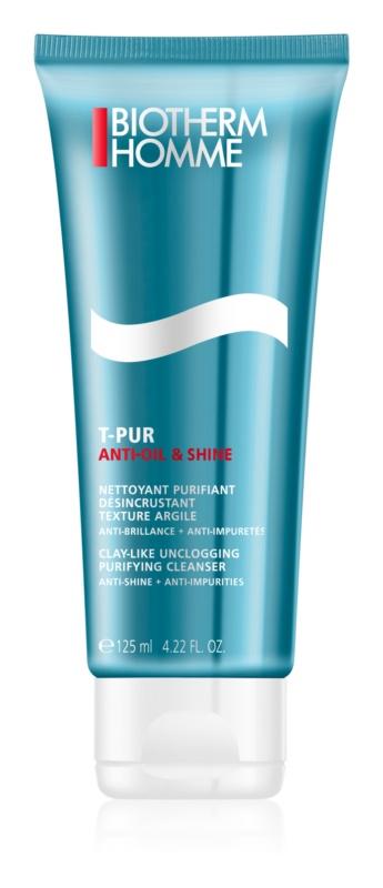 Biotherm Homme T-Pur Anti-oil & Shine gel za čišćenje za masno i problematično lice