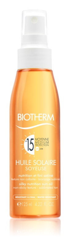 Biotherm Huile Solaire Silky Dry Oil SPF 15