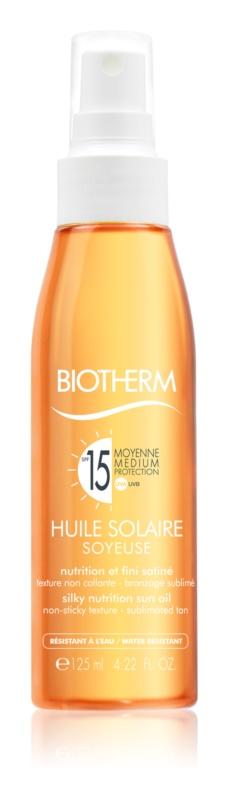 Biotherm Huile Solaire Spray de ulei uscat de bronzat SPF 15