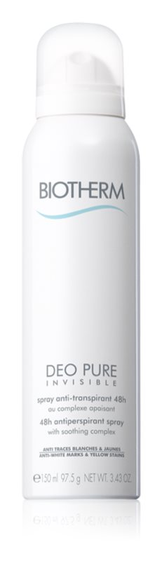 Biotherm Deo Pure Invisible Antitranspirant Spray met 48-Uurs Werking