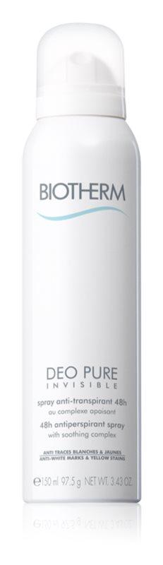 Biotherm Deo Pure Invisible antitranspirante em spray com efeito de 48 horas