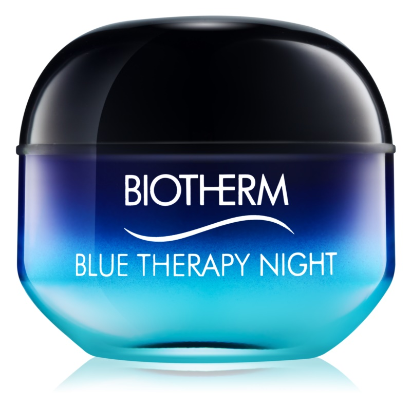 Biotherm Blue Therapy noćna krema protiv bora za sve tipove lica