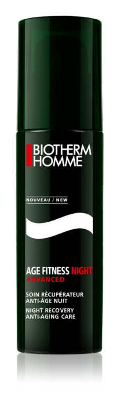 Biotherm Homme Age Fitness Advanced Night gel de nuit visage anti-âge