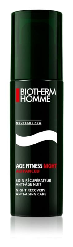 Biotherm Homme Age Fitness Advanced Night gel facial pentru noapte anti-imbatranire