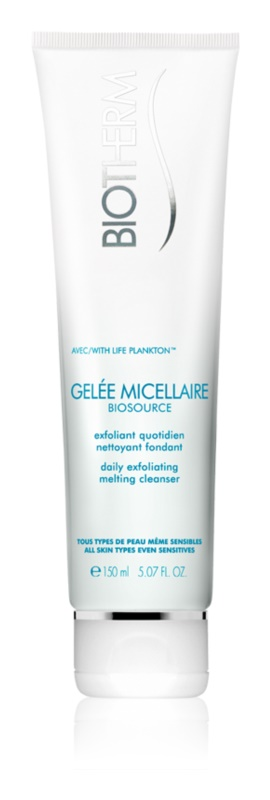 Biotherm Biosource Gelée Micellaire Exfoliating Cleansing Gel with Regenerative Effect