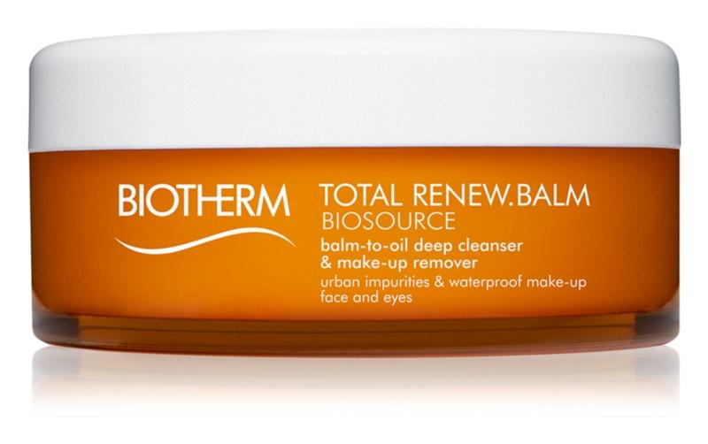 Biotherm Biosource Total Renew Balm odličovacia emulzia na tvár a oči