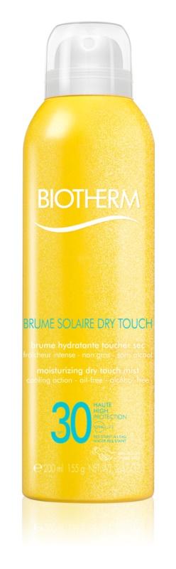 Biotherm Brume Solaire Dry Touch hydratační mlha na opalování s matujícím efektem SPF30