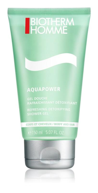 Biotherm Homme Aquapower odświeżający żel pod prysznic do ciała i włosów