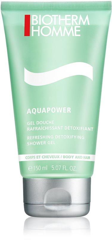 Biotherm Homme Aquapower osvežujoč gel za prhanje za telo in lase