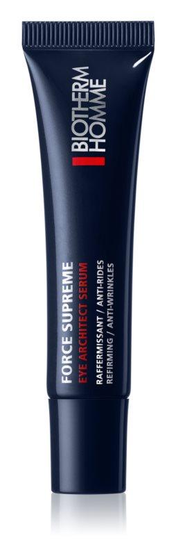 Biotherm Homme Force Supreme ujędrniające serum pod oczy przeciw zmarszczkom