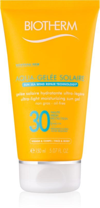 Biotherm Aqua-Gelée Solaire gel cu protectie solara hidratant SPF30