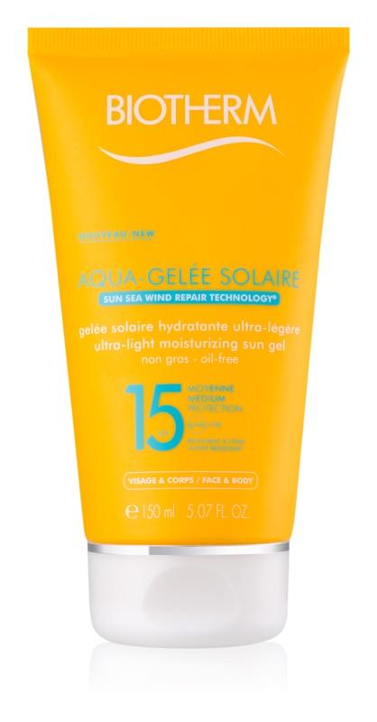 Biotherm Aqua-Gelée Solaire gel cu protectie solara hidratant SPF15