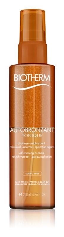 Biotherm Autobronzant Tonique dvojzložkový samoopaľovací olej na telo
